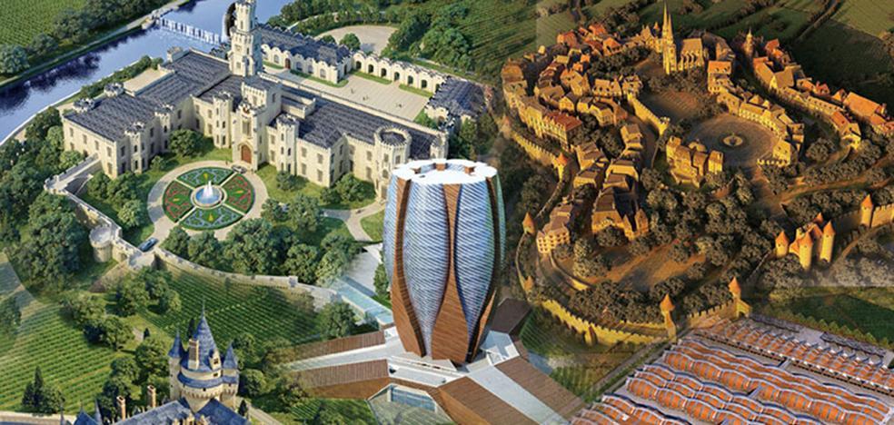 El mayor parque temático del vino del mundo está en China