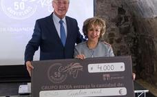Grupo Rioja dona 4.000 euros a Fundación Pioneros de su subasta benéfica de vinos