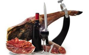 Jamón y vino de Rioja