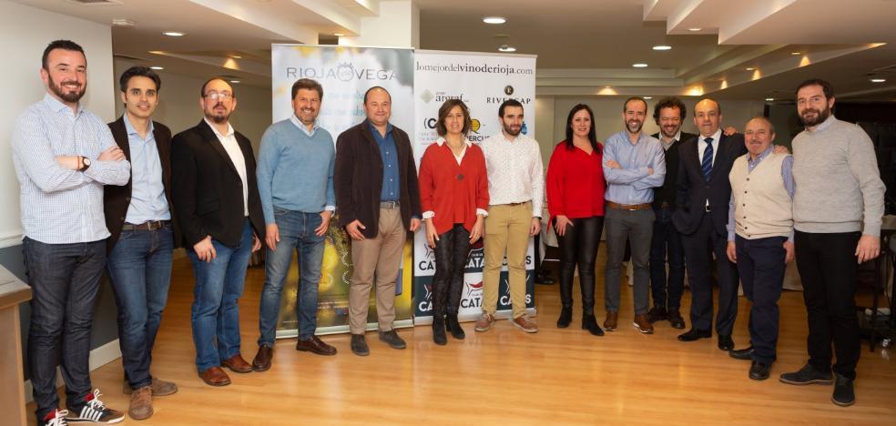 Bodegas Rioja Vega, en el Club de Catas