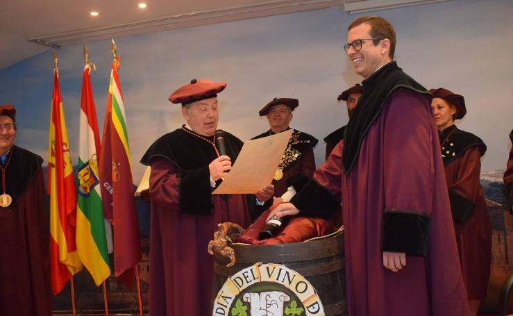 El Centro Riojano de Madrid, Cofrade de Honor de la Cofradía del Vino de Rioja