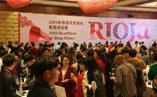 Rioja cautiva la China interior