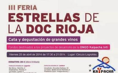 Kaipacha Inti organiza para el día 25 la VI Feria solidaria de 'Estrellas de Rioja'