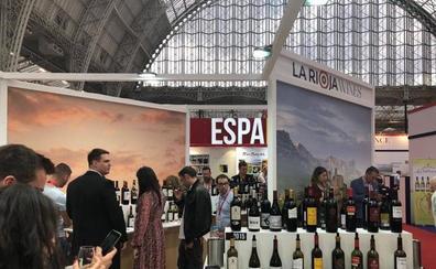 48 bodegas promocionan sus vinos en 'La Rioja Wines' durante la feria London Wine