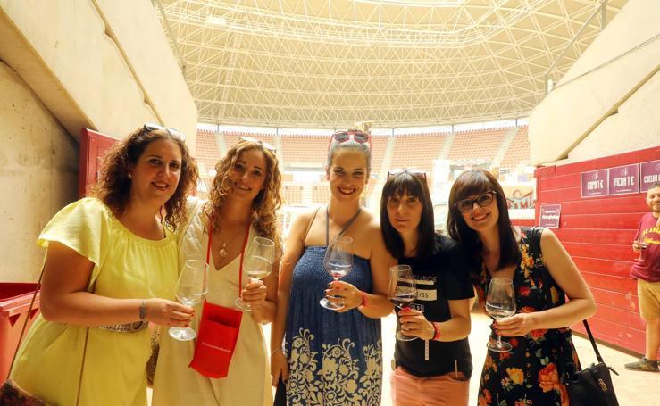 El vino de Rioja vuelve a tomar La Ribera