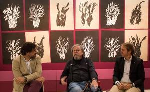 El reconocido diseñador Alberto Corazón refleja su visión del universo vitivinícola en 'Suite Vivanco'