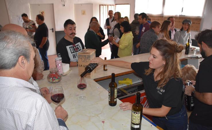 Fiesta del vino de La Uwa en Valverde
