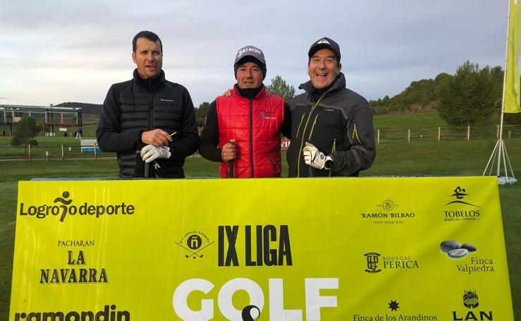 Final de la Liga de Golf y Vino (salida)