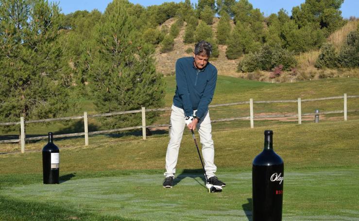 Un día de golf junto a Bodegas Perica