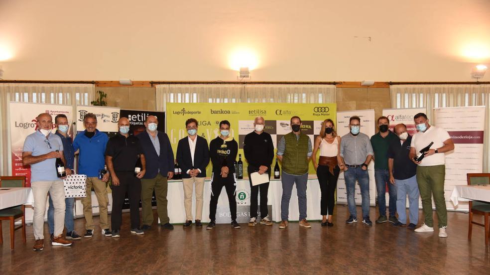 La entrega de premios del torneo Bodegas Perica