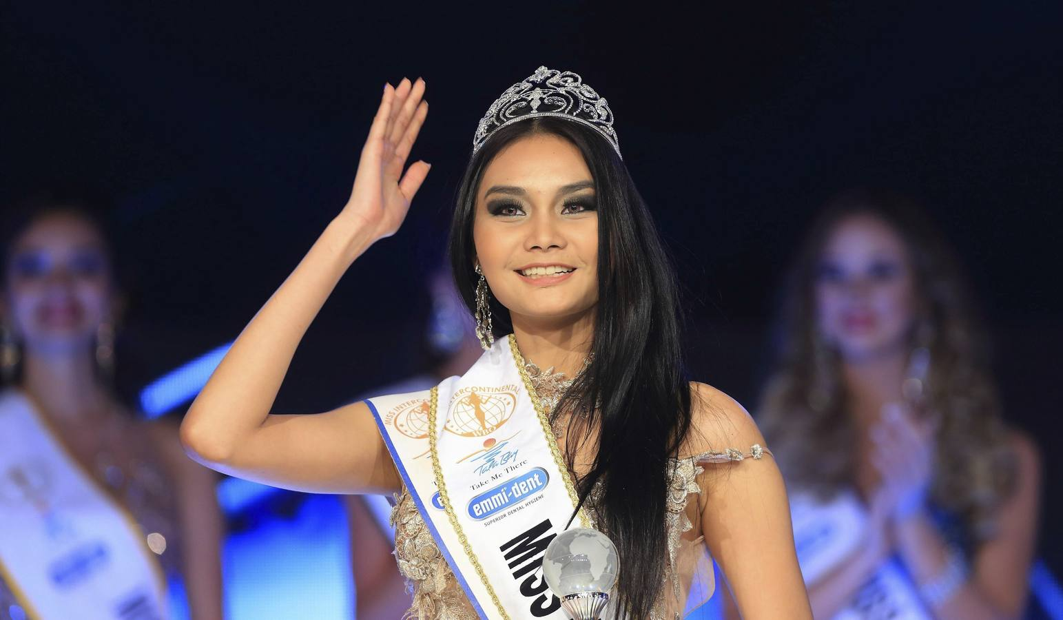 La belleza tailandesa triunfa en Miss Intercontinental