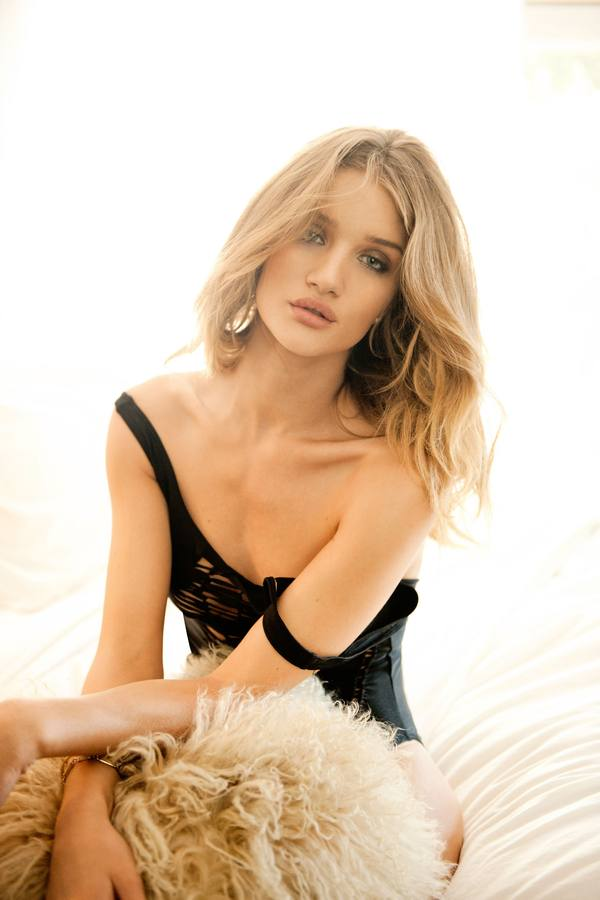 Rosie Huntington la sustituta de Megan Fox