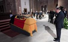 Figuras clave de la política dan su último adiós a Helmut Kohl, figura clave del futuro europeo