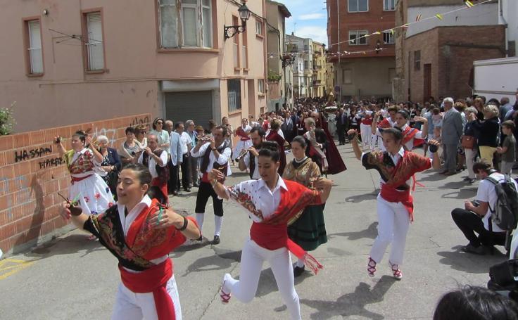 Lardero: procesión de San Marcial