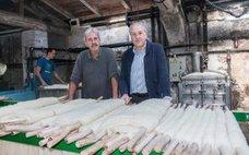 Ezcaray exporta mantas al mundo