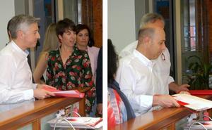 Ocón y Caperos son ya candidatos definitivos a la secretaría general del PSOE La Rioja
