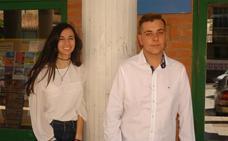 Noelia Jiménez Sainz y Rubén Rodríguez Gil, Alpargateros de las fiestas de Cervera 2017