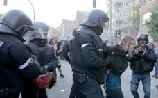 Enfrentamientos entre policías y manifestantes antes de la cumbre del G-20