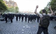Los disturbios sacuden una cumbre que Merkel y Hamburgo querían impecable