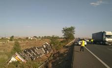 Un joven de 25 años fallece en un accidente en la N-232 en Calahorra