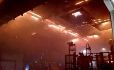 Sofocado un incendio en una empresa de Haro