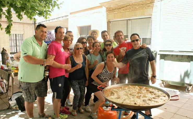Concurso de paellas de las fiestas de los Barrios Altos de Nájera