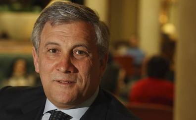 Tajani: «No se puede olvidar la solidaridad de hace 20 o 30 años»