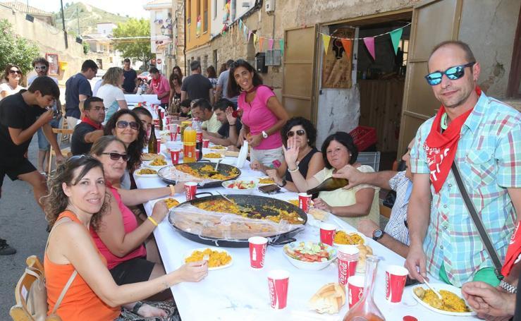 Comida festiva en El Cortijo
