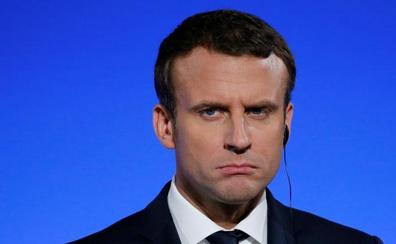 La popularidad de Macron cae diez puntos en el último mes
