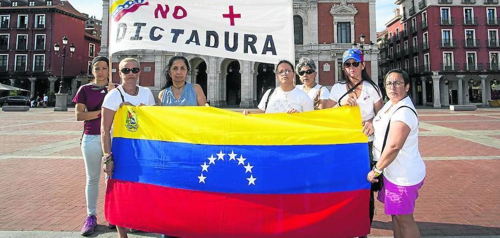 El colectivo venezolano de Valladolid, contra las «fraudulentas elecciones de Maduro»