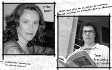 Lectura de poemas a cargo de Itziar Ancín y Tere Irastortza en el 'Agosto Clandestino'