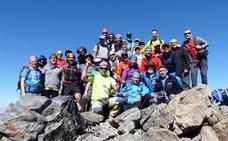 Cuarenta montañeros de Haro viajan a los Pirineos