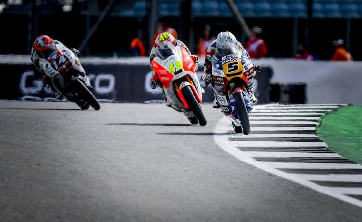Crutchlow, Márquez y Canet los más rápidos de sus categorías
