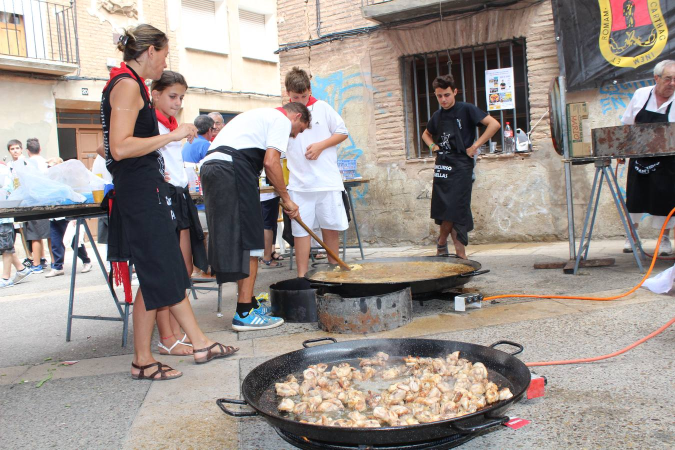 Paellas para celebrar las fiestas de Calahorra