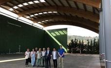 Las obras de la cubierta del frontón de Ventosa costarán 224.000 euros