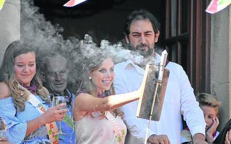 San Asensio dispara el cohete