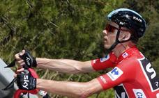 El reloj de la Vuelta se para en Logroño