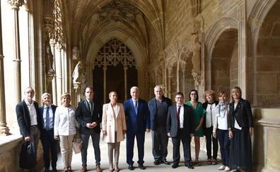 El Patronato de Santa María la Real de Nájera asumirá la gestión de las visitas al monasterio