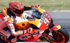 Márquez brilla y empata en el liderato con Dovizioso