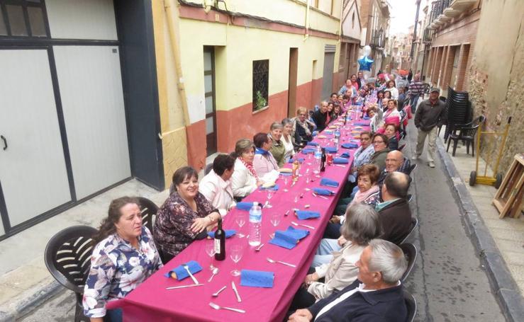 Comida popular en Alfaro