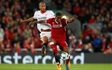 El Sevilla sale vivo de Anfield