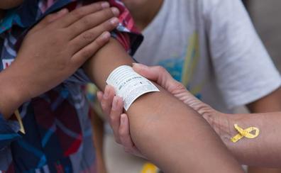 Logroño, en dorado contra el cáncer infantil