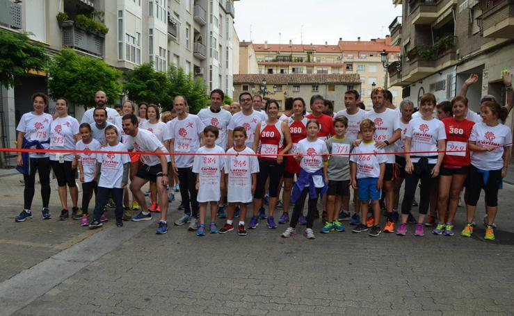 Carrera solidaria de Cáritas en Calahorra