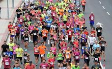 Cortes parciales y cambios en los autobuses desde las 8.45 hasta las 14.30 horas por el maratón