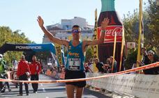 Kike Fernández gana el Maratón de Logroño por delante de Miguel Ferrer