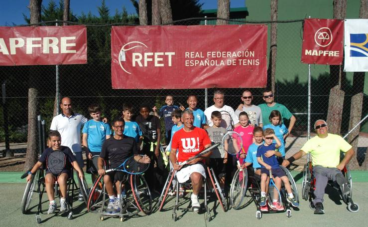 XV Campeonato Nacional de Tenis en Silla por comunidades autónomas y Clinic