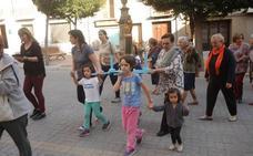 Fiesta de los vecinos de la calle Virgen del Pilar