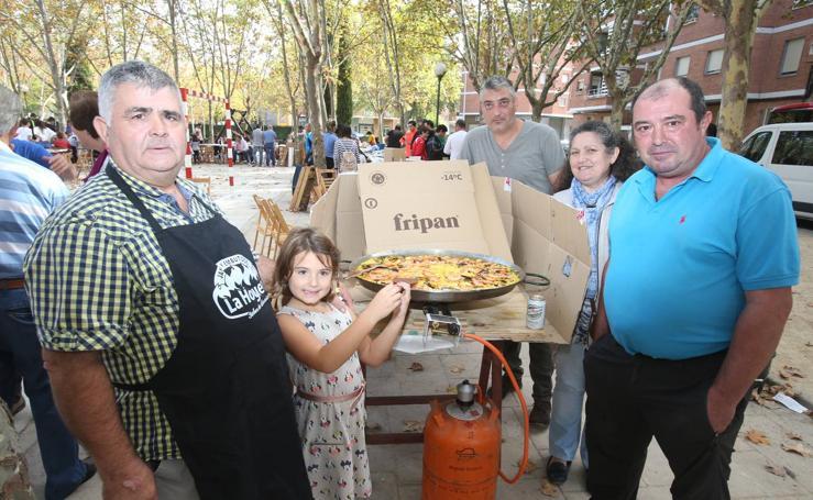 Día de paellas en Varea