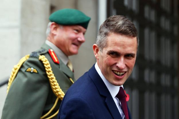 Gavin Williamson. :: efe/