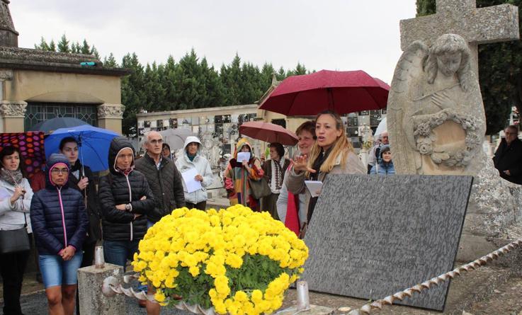Visita al cementerio de Calahorra